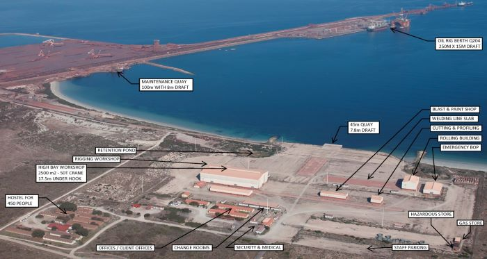 Saldanha Bay is South Africa's deepest port and handles mainly iron ore exports but is expected ...