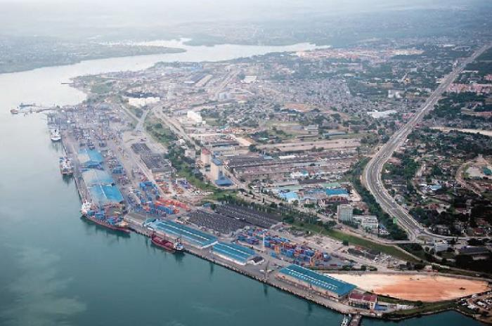 Port of Dar es Salaa, appearing in Africa PORTS & SHIPS