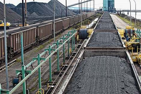 Matold coal rail terminal