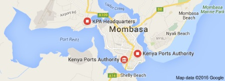 Port of Mombasa, Kenya, in Africa PORTS & SHIPS
