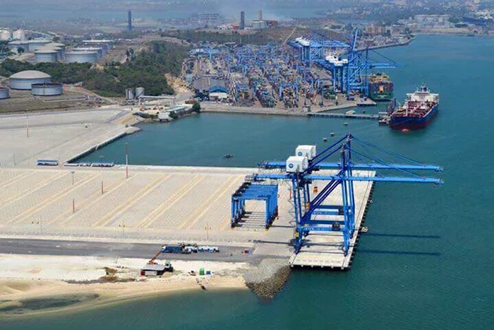 Mombasa's second container terminal under construction, in Africa PORTS & SHIPS