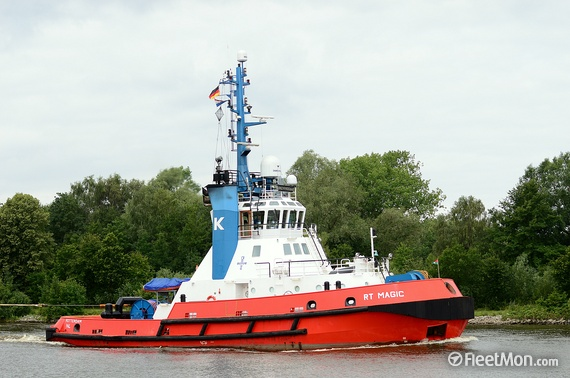 RT Magic, one of two Kotug tugs in service at Nacala, appearing in Africa PORTS & SHIPS