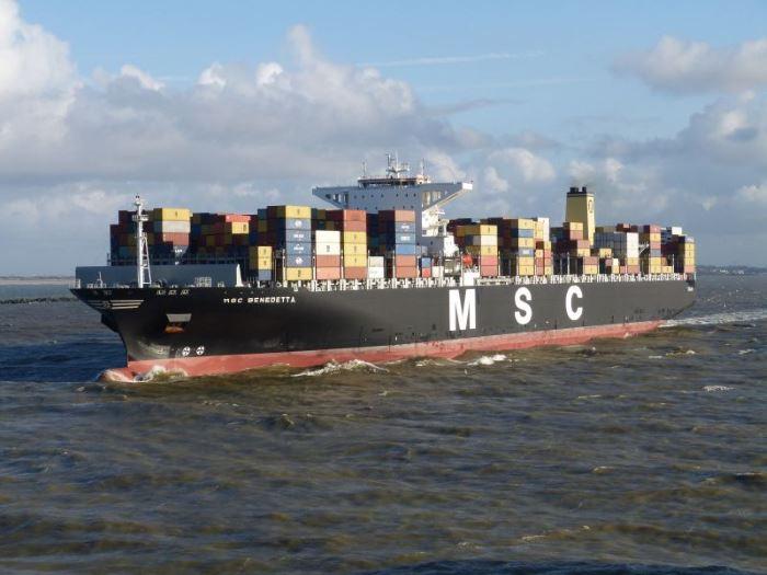 MSC Benedetta. Shipspotting image