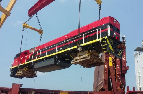 GE Transportation loco