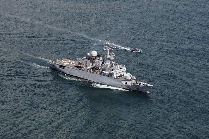 French navy frigate Floreal
