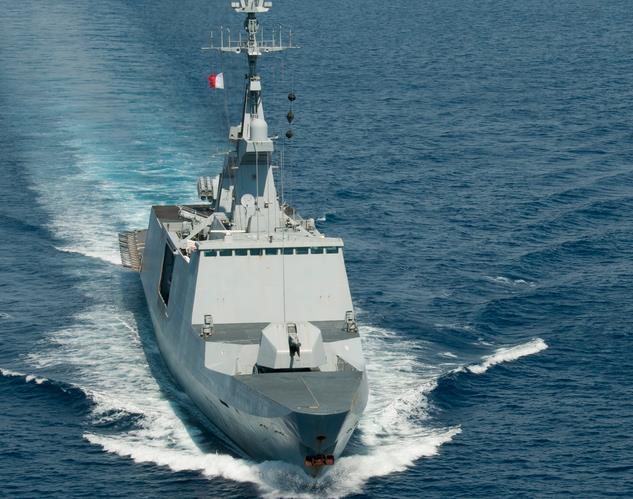 French patrol frigate