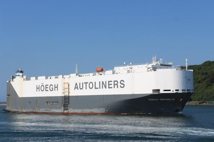 Car carrier Hoegh Brasilia