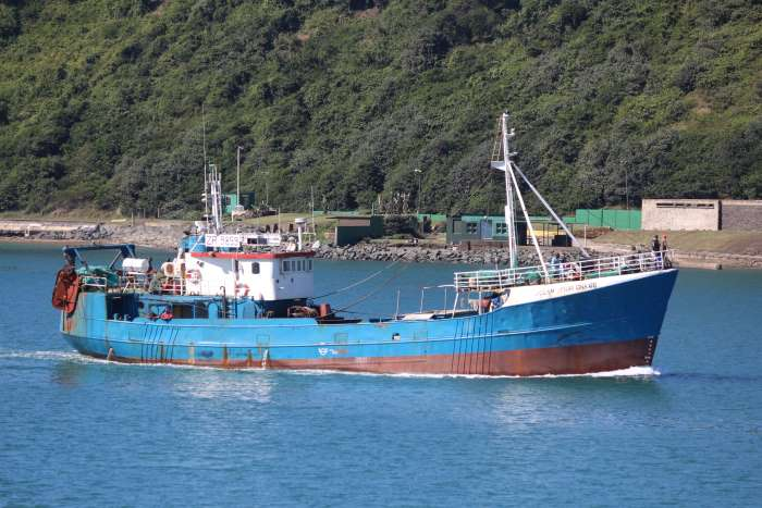 Ocean Spray fishing trawler