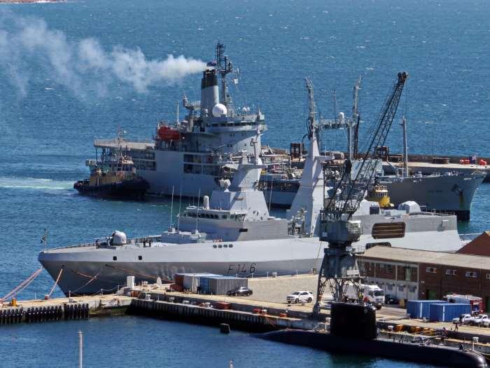 Simon's Town naval dockyard 2015 David Erickson
