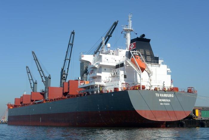 bulker TD Hamburg, Maydon Wharf Durban