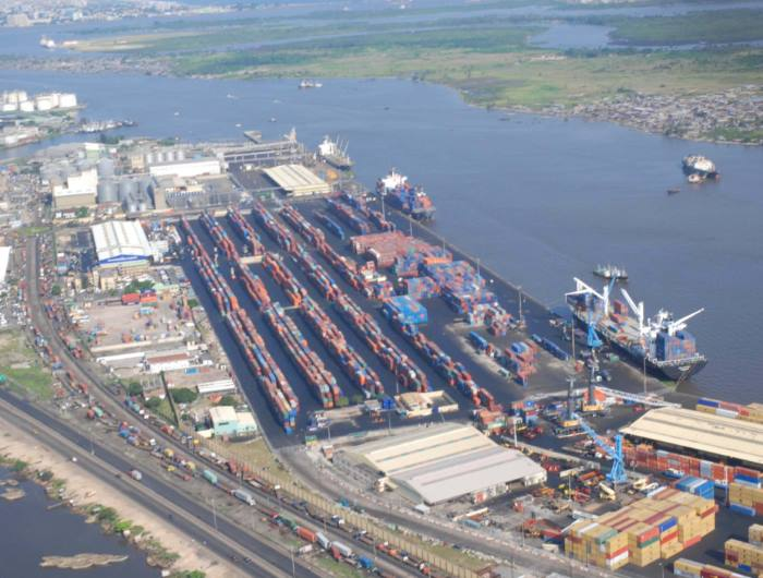 The 11-berth Tin Can Terminal at Lagos