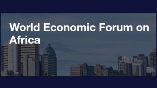 World Economic Forum Africa banner