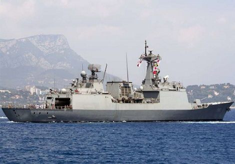 South Korean Navy destroyer ROKS CHOI YOUNG in maritime news
