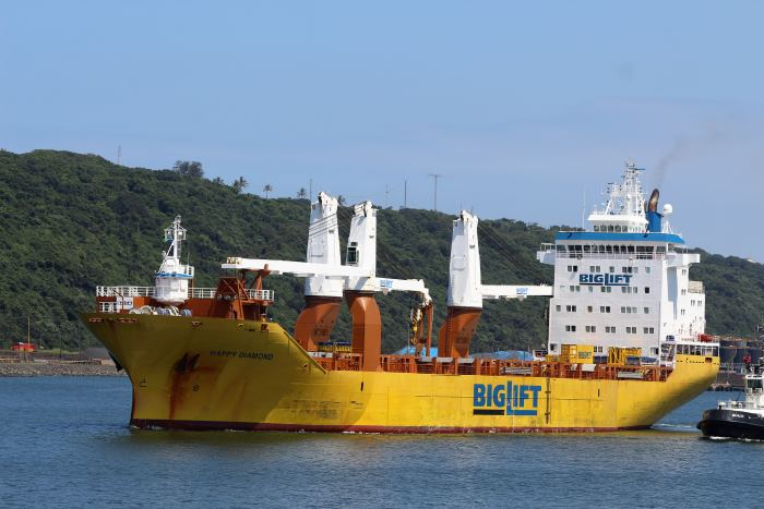 Happy Diamond by Keith Betts, in Africa PORTS & SHIPS maritime news