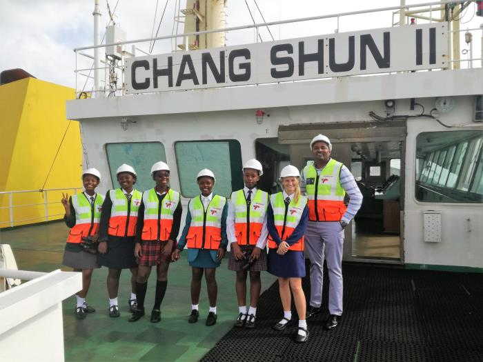 TPS's Take a Girl Child to Work project, in Africa PORTS & SHIPS Maritime News