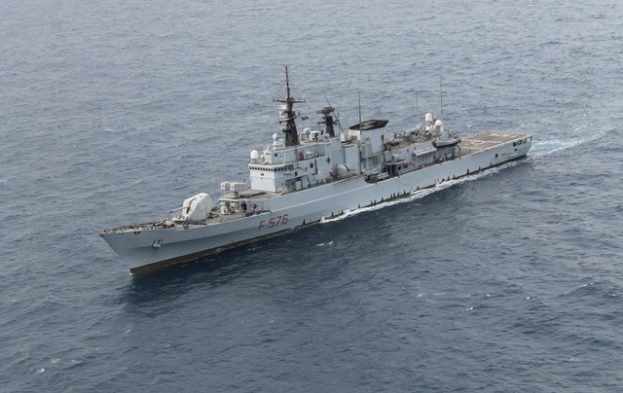 Italian Nay frigate Espero on duty with EU NAVFOR, in Africa PORTS & SHIPS maritime news