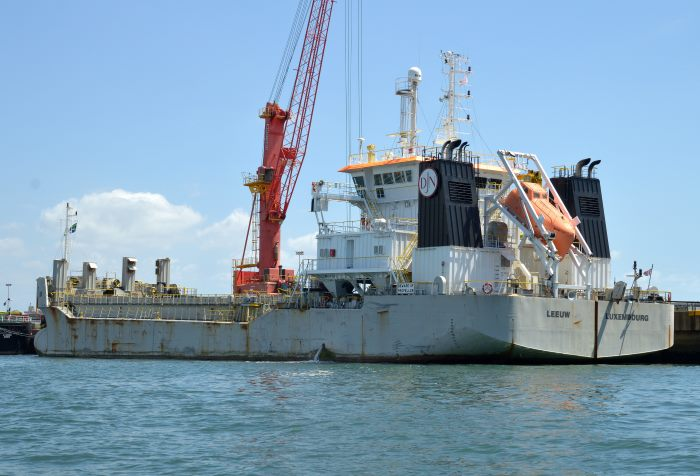 Leeuw, by Trevor JOnes, appearing in Africa PORTS & SHIPS Maritime News
