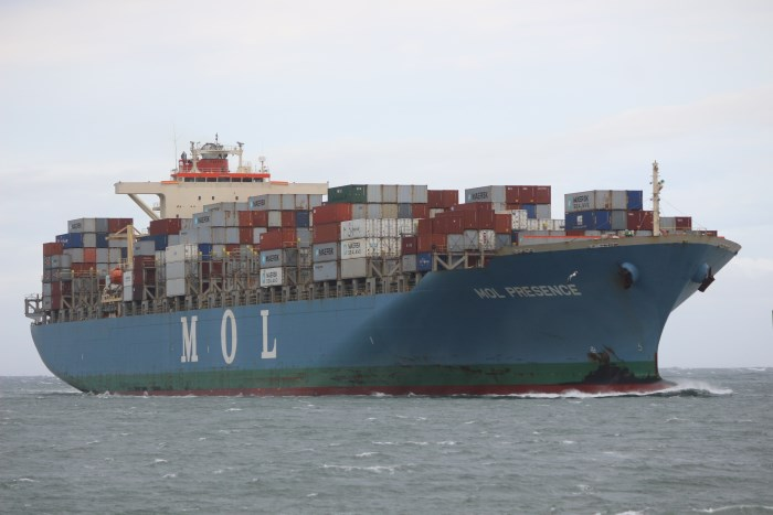 MOL Presence, by Keith Betts in Maritime News