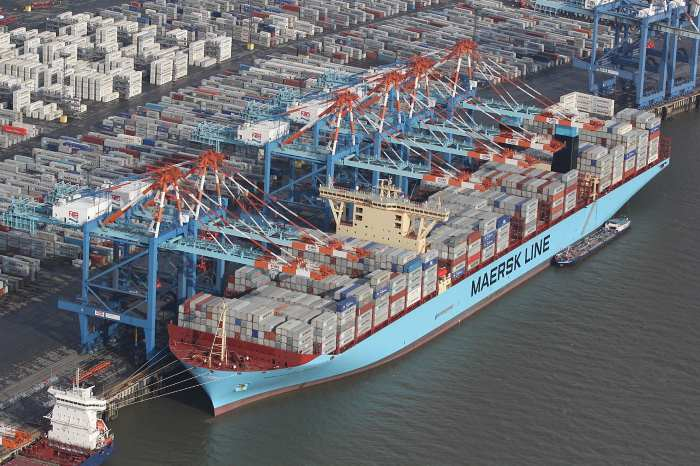 Maersk McKinney Moller, in Africa PORTS & SHIPS Maritime News