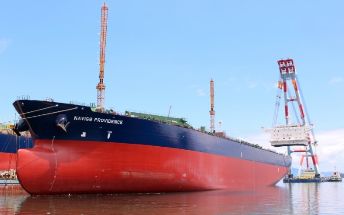 pirate attack on tanker Navig8 Providence
