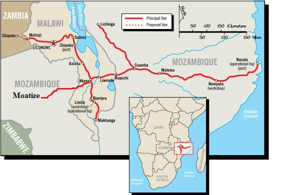 Nacala rail corridor in maritime news