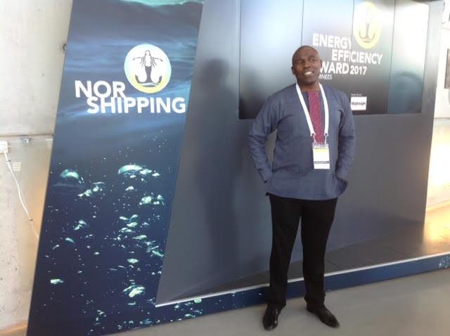 Sobantu Tilayi at Nor-Shipping, 2017