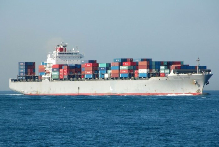 K-Line ship Vancouver Bridge. Picture: Gerolf Drebes, Shipspotting, and appearing in Africa PORTS & SHIPS maritime news