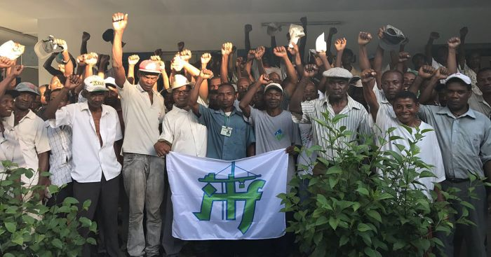 Malagasy dockers protesting, in Africa PORTS & SHIPS maritime news