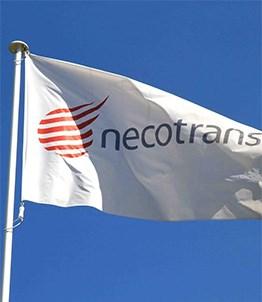 Necotrans banner flag. Maritime News