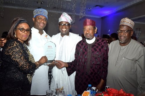NIMASA Board and TELL Awards, appearing in Africa PORTS & SHIPS maritime news