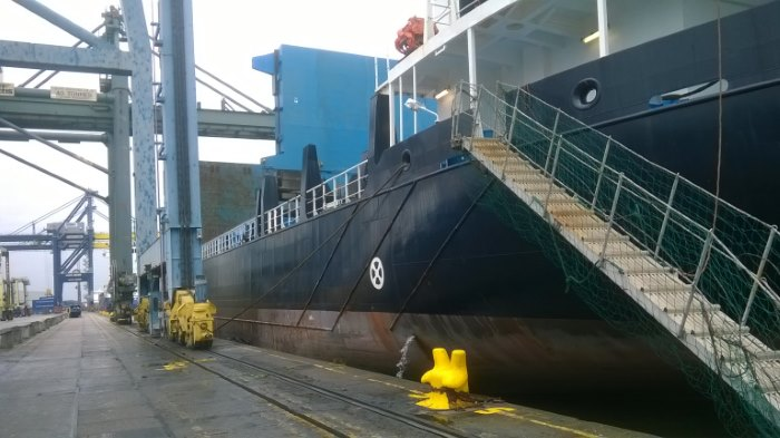 appearing in Africa PORTS & SHIPS maritime news