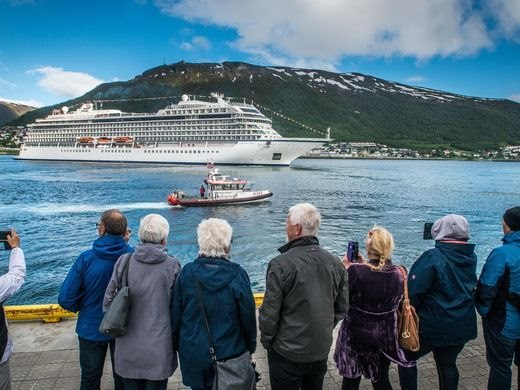 Viking Sky christening ceremony. Pictures: Viking Cruises and appearing in Africa PORTS & SHIPS maritime news