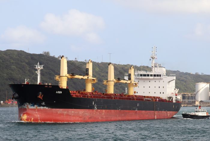 Loza. Pictures: Keith Betts, appearing in Africa PORTS & SHIPS maritime news
