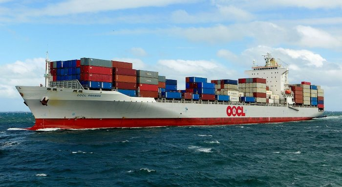 OOCL Panama. Picture: Wikipedia Commons, appearing in Africa PORTS & SHIPS maritime news