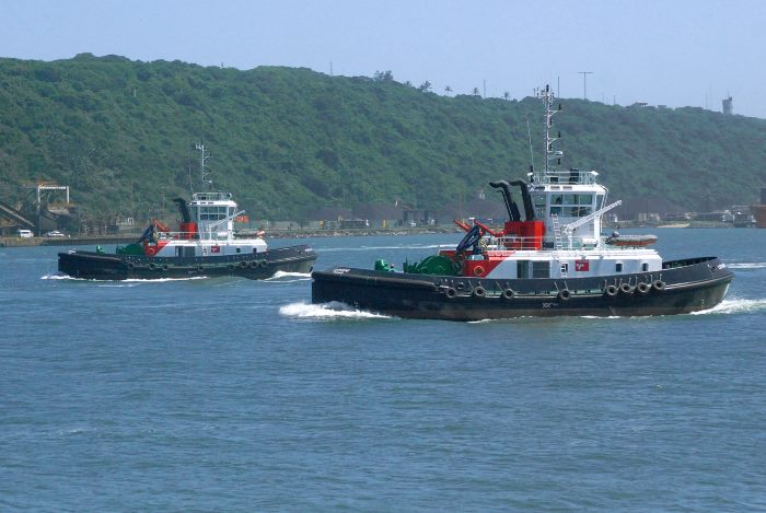 Durban tugs Pholela and Lotheni. Picture: Trevor Jones, appearing in Africa PORTS & SHIPS maritime news