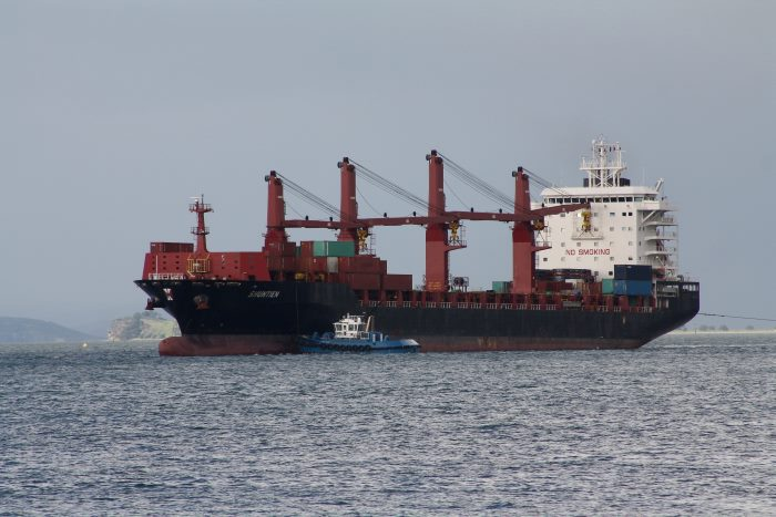 container ship Shuntien at Auckland, NZ. Picture: Alan Calvert, appearing in Africa PORTS & SHIPS Maritime News