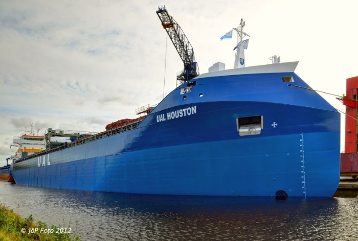 UAL Houston. Picture: Shipspotting, appearing in Africa PORTS & SHIPS maritime news