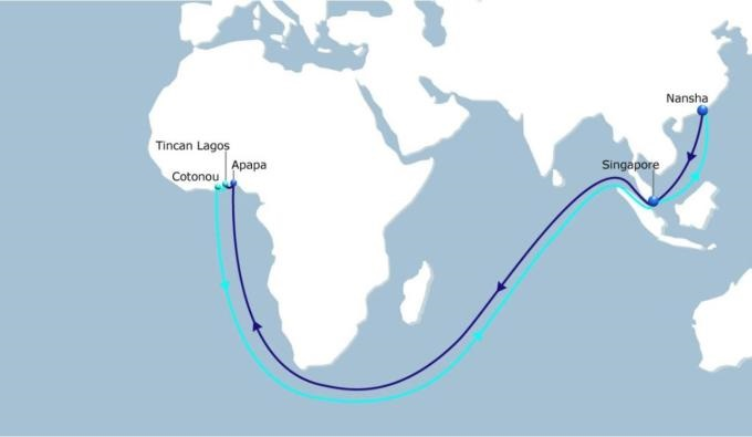 CMA CGM's WAX 2 service resinstated, appearing in Africa PORTS & SHIPS shipping & maritime news
