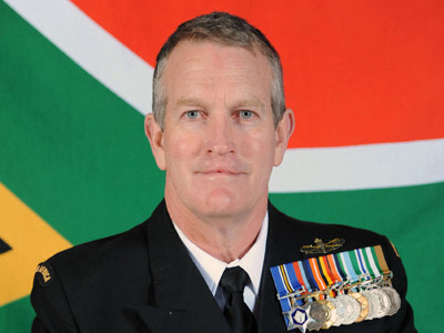 Rear Admiral Guy Jamieson, appearing in Africa PORTS & SHIPS shipping and maritime news