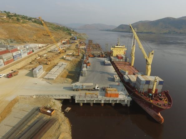 Port of Matadi terminal, Congo River, DRC. Picture: ICTSI, appearing in Africa PORTS & SHIPS maritime news