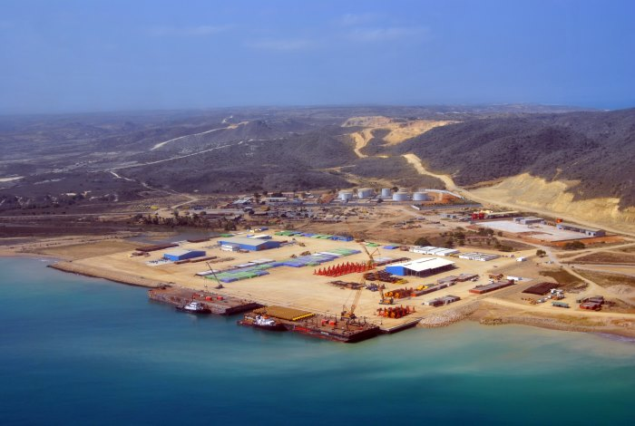 The emerging new port of Porto Amboim, appearing in Africa PORTS & SHIPS maritime news