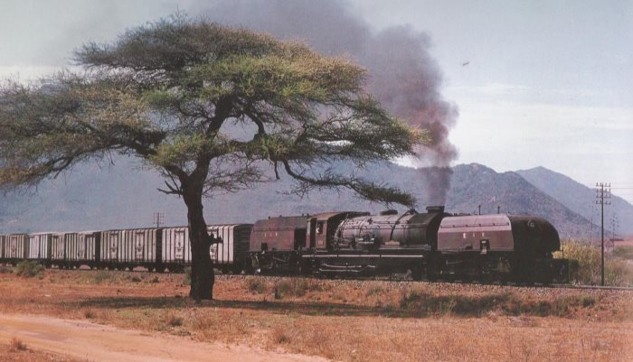 Kenya Railways in its heyday. Picture: AE Durrant, appearing in Africa PORTS & SHIPS maritime news