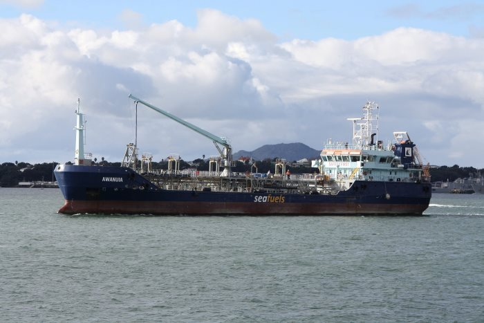 Awanuia in Auckland. Picture: Alan Calvert, appearing in Africa PORTS & SHIPS maritime shipping news