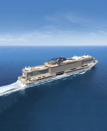 MSC Seaview, as appearing in Africa PORTS & SHIPS maritime news