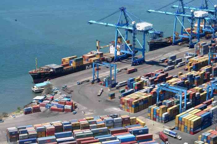 Mombasa container terminal, berth 16, appearing in Africa PORTS & SHIPS maritime news
