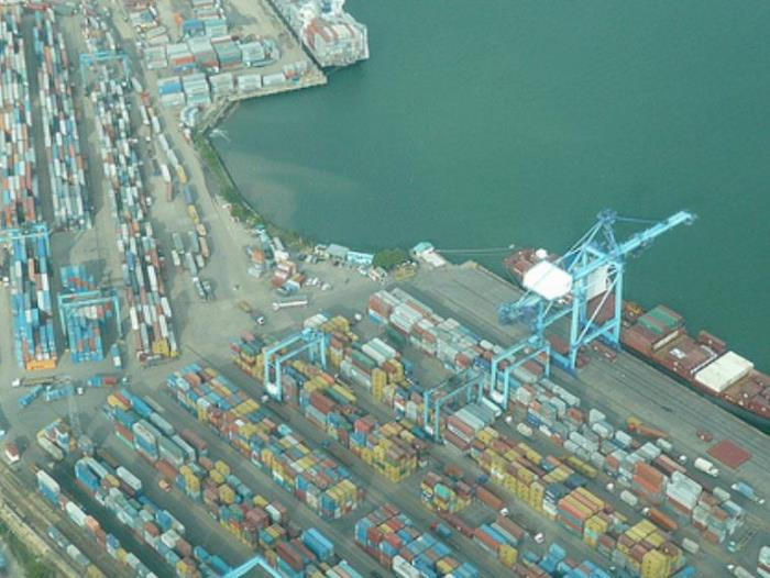 Mombasa Container Terminal berths, appearing in Africa PORTS & SHIPS maritime news