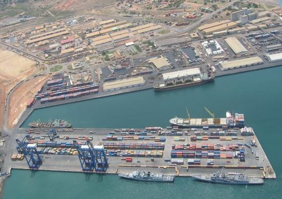 Port of Tema, Ghana, appearing in Africa PORTS & SHIPS maritime news