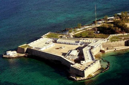 Isla de Mocambique's impressive Fort of Sao Sebastiao, appearing in Africa PORTS & SHIPS maritime news