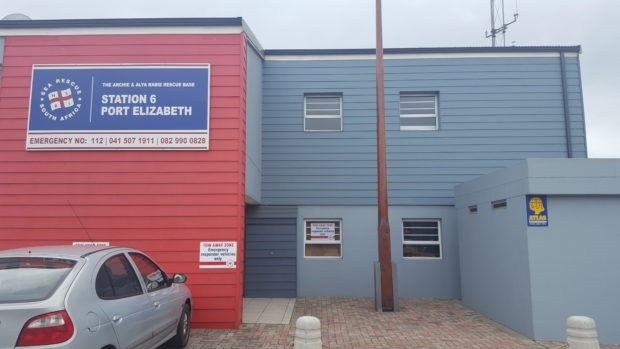 NSRI Port Elizabeth Station 6, appearing in Africa PORTS & SHIPS maritime news