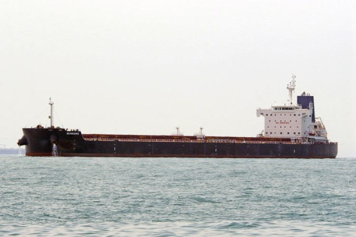 Semiramis. Picture: Martin Klingsick / Shipspotting, appearing in Africa PORTS & SHIPS maritime news